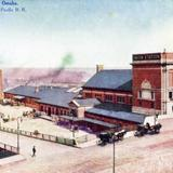 Union Depot, on line of Union Pacific R.R. - Omaha, Nebraska