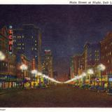 Main Street at night - Salt Lake City, Utah