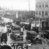 Hurricane of September 1926: Flagler St and 12th Avenue - Miami, Florida