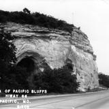 Portion of Pacific Bluffs / Highway 66 - Pacific, Missouri